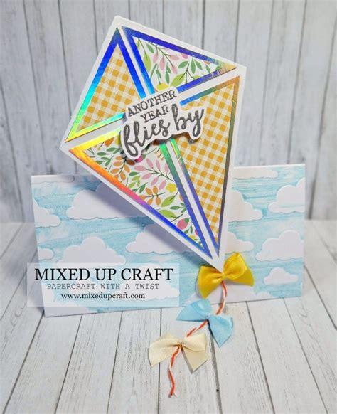 fun kite fold cards gift card holder gift card holder
