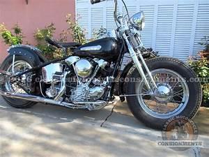 Bobber Harley Davidson : 1946 harley davidson el knucklehead bobber for sale ~ Medecine-chirurgie-esthetiques.com Avis de Voitures