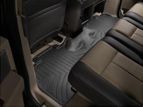 weathertech floor mats expedition 2015 ford expedition weathertech digitalfit 174 second row floor liners bench seats only 441072