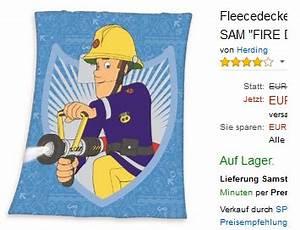 Feuerwehrmann Sam Decke : kinderdecke von feuerwehrmann sam zum kuscheln reduziert ~ Buech-reservation.com Haus und Dekorationen