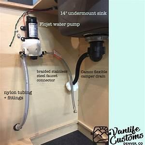 Vanlife Customs 101  Camper Van Diy Sink And Water System
