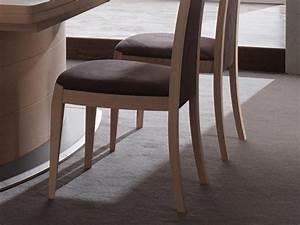 Chaise Chene Clair : chaise marina en ch ne massif dossier et assise en tissu meubles bois massif ~ Teatrodelosmanantiales.com Idées de Décoration