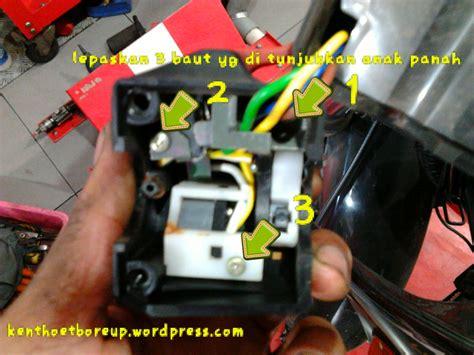 tips cemen bikin vixion anti aho hanya dengan bermodal obeng dan solder kenthoet boreup