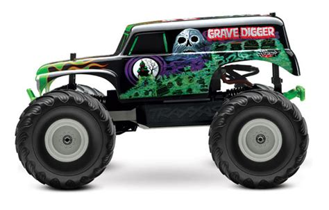 grave digger monster truck for sale devilishly good the traxxas 1 10 grave digger rtr rc