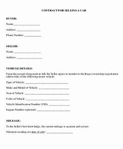 8 payment contract templates sample example format With car deposit contract template