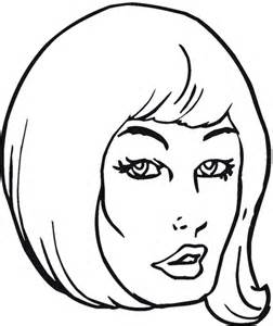 girl  beautiful hair coloring page  printable