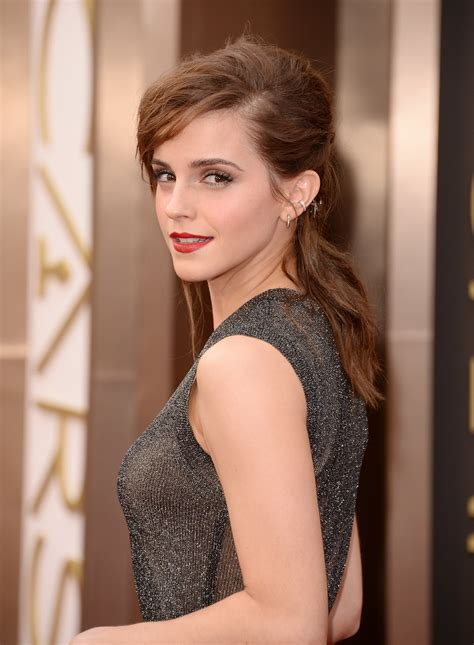 Emma Watson Hair Makeup Oscars Popsugar Beauty