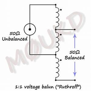 1 1 Voltage Balun For Hf Wire Dipoles  U2013 M0ukd  U2013 Amateur