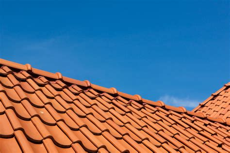 install clay roof tile