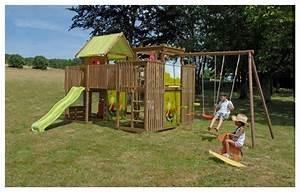 Jeux Exterieur Pas Cher : aire de jeux en bois belgique ~ Farleysfitness.com Idées de Décoration