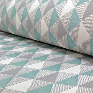 Rasch Triangle Stripe Pattern Kitchen Bathroom Vinyl ...