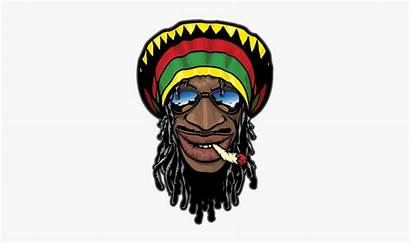 Weed Clipart Smoking Cartoon Jamaican Printed Vinyl