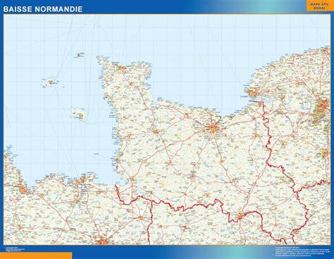 Carte De Normandie Detaillee by Carte Normandie D 233 Taill 233 E Gratuite My
