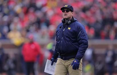 Michigan Harbaugh Jim Wolverines Football State Coronavirus