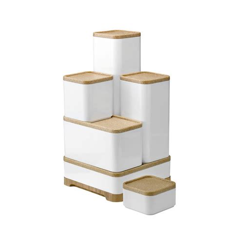 Rigtig Stackable Kitchen Storage Boxes By Stelton  Lapadd