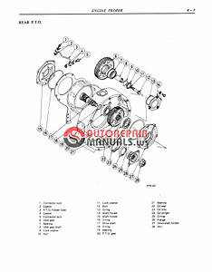 Kobelco Nissan Diesel Engine Pd6 Pd6t For Lk850