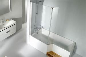 Salle De Bain Douche Baignoire : baignoire douche neo jacob delafon schmitt ney ~ Melissatoandfro.com Idées de Décoration