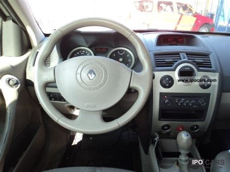 2003 renault megane privilege luxe car photo and specs