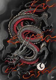 japanese dragon art wallpaper google search dragons japanese dragon tattoos dragon tattoo