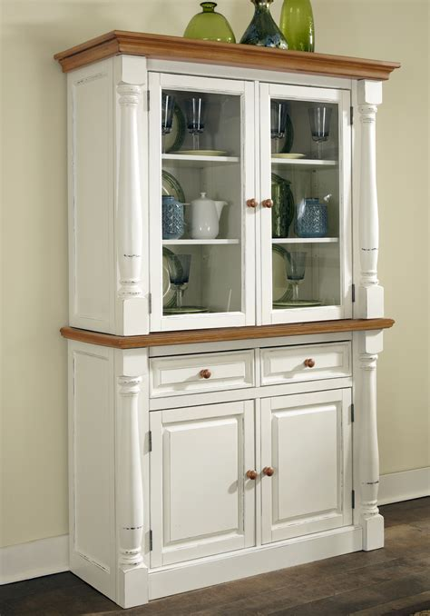 home styles monarch buffet  hutch