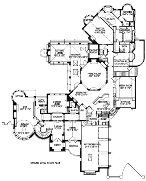 tudor style house plan  beds  baths  sqft plan