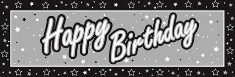 birthday clipart outline black aand white