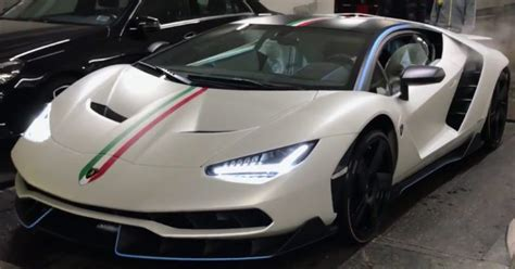 First Customer Lamborghini Centenario Spotted