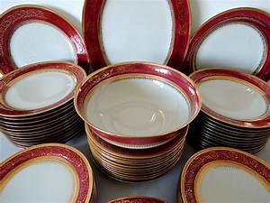 Service De Table Porcelaine : service de table limoges ahrenfeldt porcelaine ~ Teatrodelosmanantiales.com Idées de Décoration