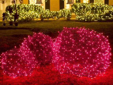 exterior christmas decorating net yard decorations hgtv