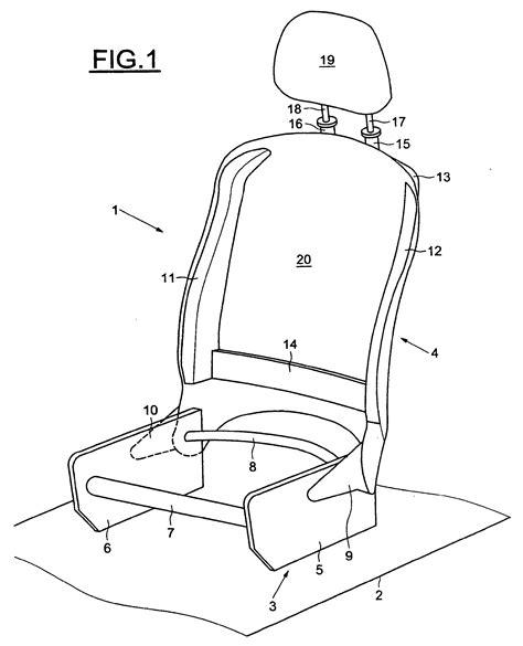 changer un siege de voiture patent ep1674335b1 siège de voiture automobile