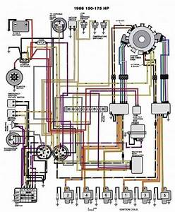 Evinrude Johnson Outboard Wiring Diagrams