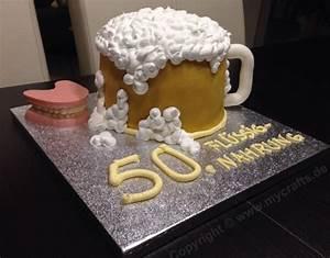 Torte Zum 50 Geburtstag Selber Machen : motivtorte bier mycrafts ~ Frokenaadalensverden.com Haus und Dekorationen