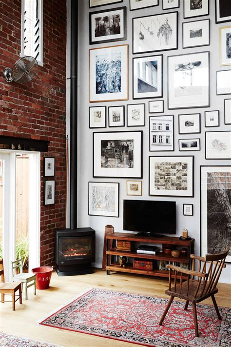 Home inspiration: Gallery walls - The green eyed girl