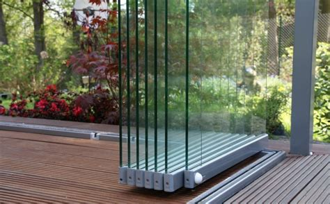 Glas Rahmenlos by Glas Faltwand Rahmenlos Abblaseleitung Sicherheitsventil