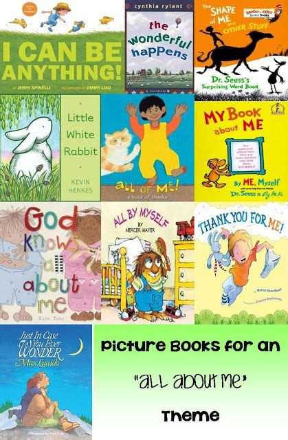 quot all about me quot themed picture books thumbelina s 297 | d4ffe8ea91d67eca7fb4b15e3e7bc3cd