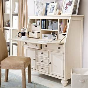 Seventh Avenue Secretary Desk White Secretary Desk Design