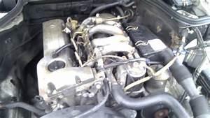 W124 Diesel 200d Mercedes-benz - Engine Start