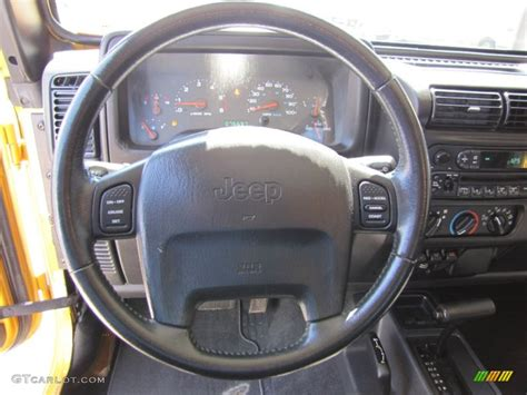 jeep rubicon steering wheel 2003 jeep wrangler rubicon 4x4 steering wheel photos