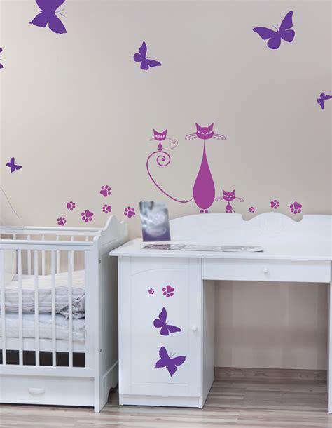 stickers papillon chambre bebe deco papillon chambre fille la chambre aux papillons