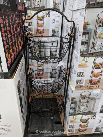Gourmet Basics 3 Tier Market Baskets
