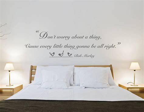 dont worry quote wall sticker contemporary wall stickers