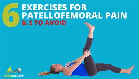 6 Patellofemoral Pain Syndrome Exercises