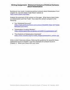 rhetorical analysis assignment sample