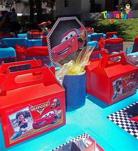 Cars themed party cape town - The Party B Kids party set