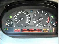 2002 BMW X5 44 E53 Instrument Cluster Gauge Test #2 YouTube