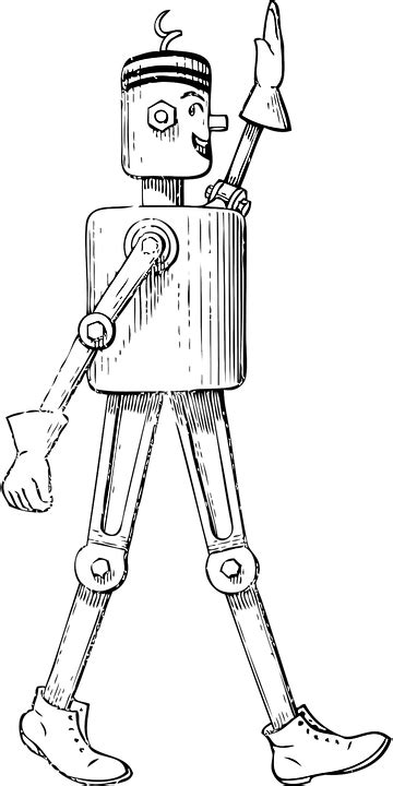 Free vector graphic: Robot, Android, Mechanical Man - Free