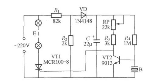 Voice Activated Music Coloured Light Circuit Led