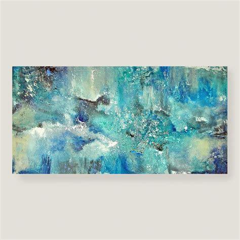 ideas  duck egg blue canvas wall art