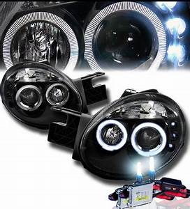 HID Xenon 03 05 Dodge Neon Angel Eye Halo & LED