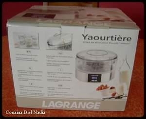 Yaourtiere Lagrange Recette : une magnifique yaourtiere lagrange couzina diel nadia ~ Nature-et-papiers.com Idées de Décoration